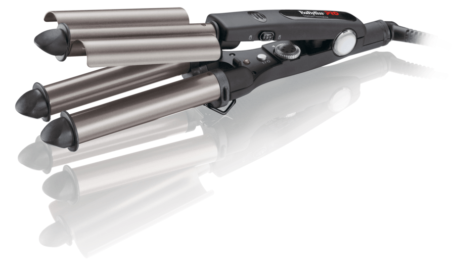 BaBylissPRO Triple Curling Iron – Lockenstab (22/19/22 mm)