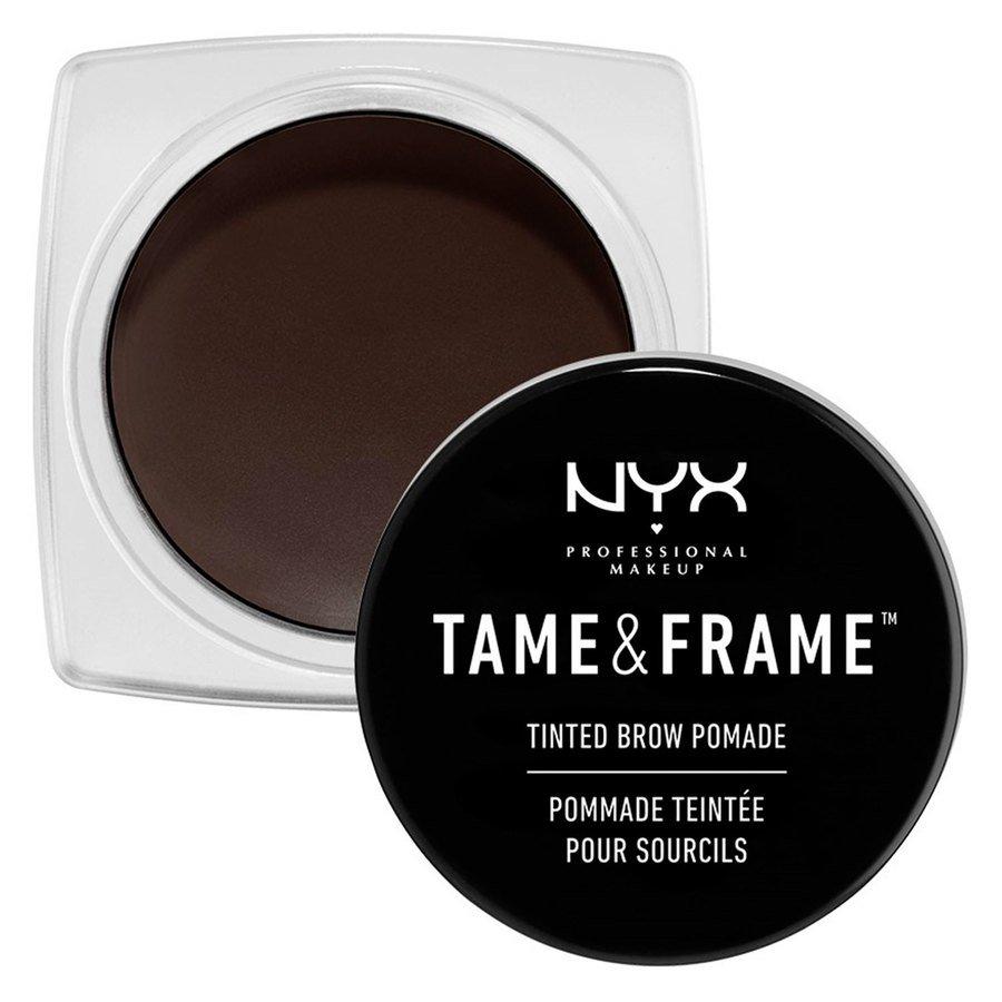 NYX Professional Makeup Tame & Frame Tinted Brow Pomade, 05 schwarz