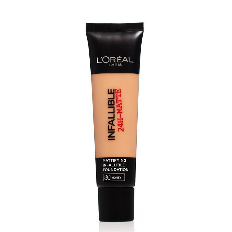 L'Oréal Paris Infallible 24H Matte Foundation (30 ml), #30 Honey