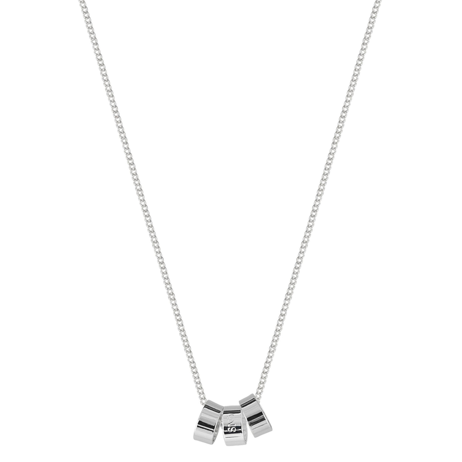 Snö of Sweden Alea Pendant Necklace, Plain Silver (42 cm)