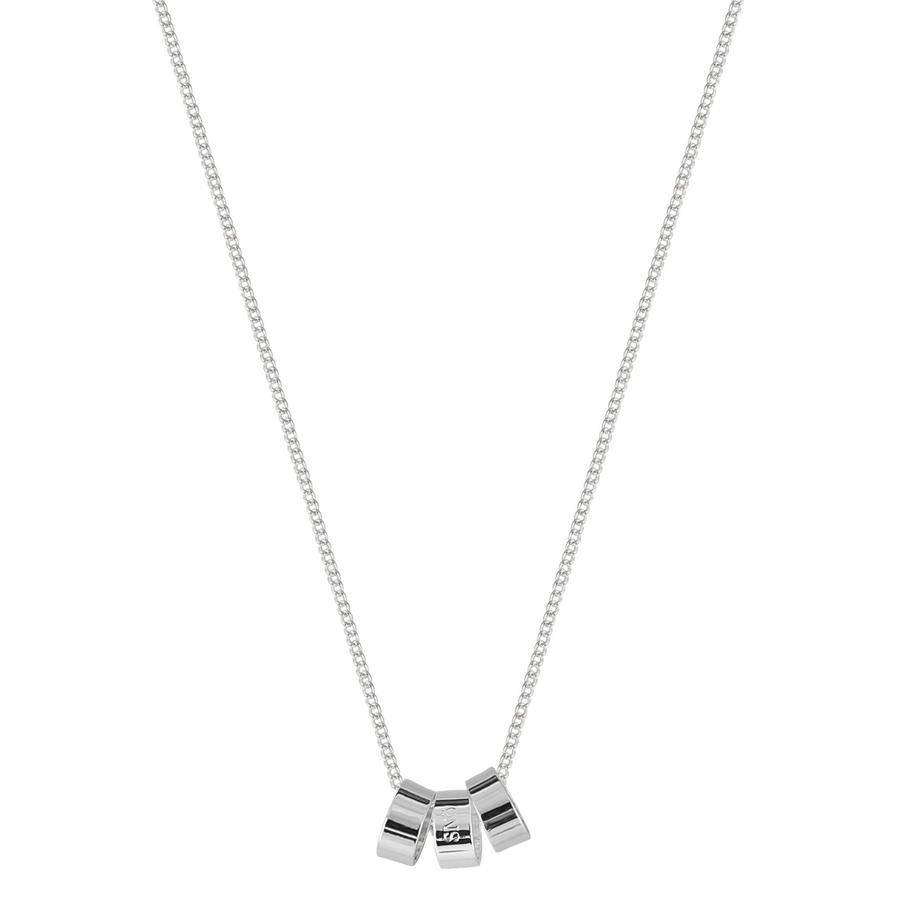 Snö of Sweden Alea Pendant Necklace, Plain Silver (42 cm)