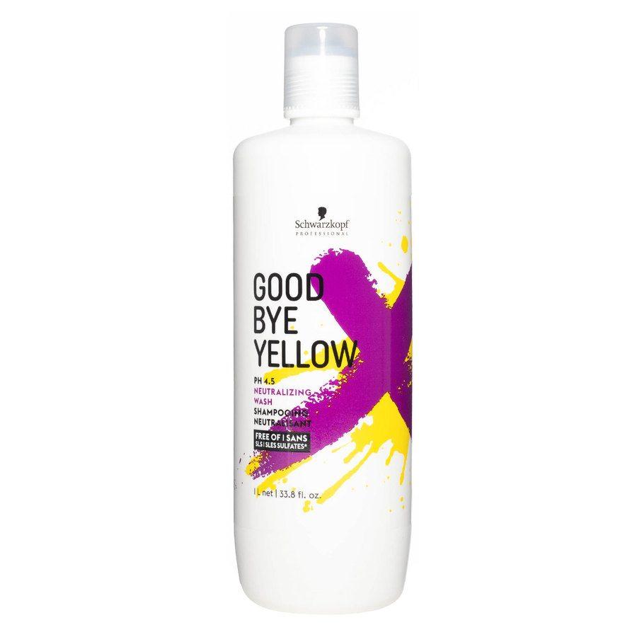 Schwarzkopf Goodbye Yellow Neutralizing Wash Shampoo (1000 ml)
