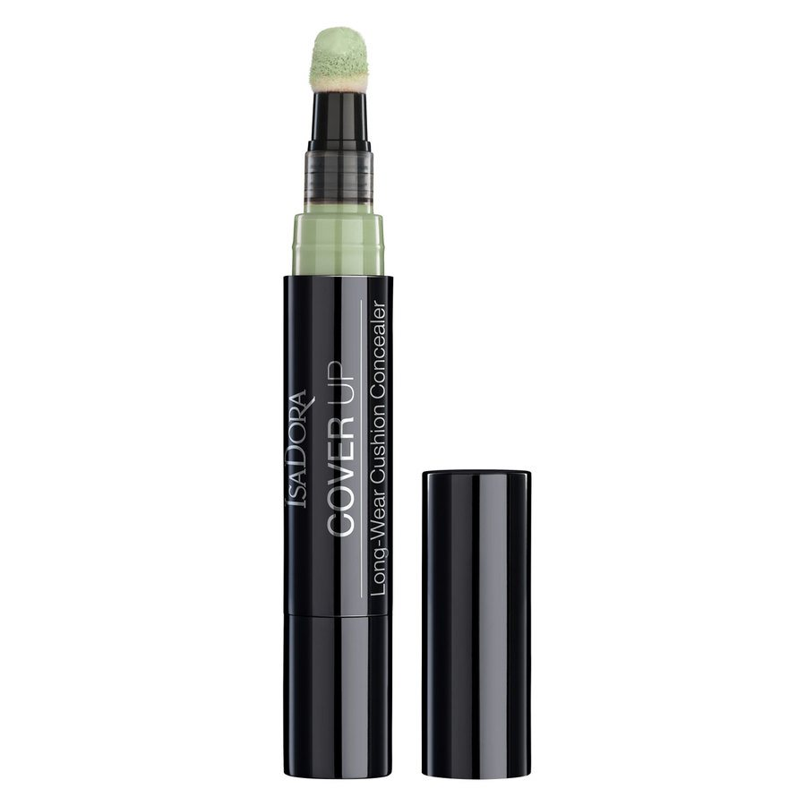 IsaDora Cover Up Long-Wear Cushion Concealer, 60 Green (4,2 ml)