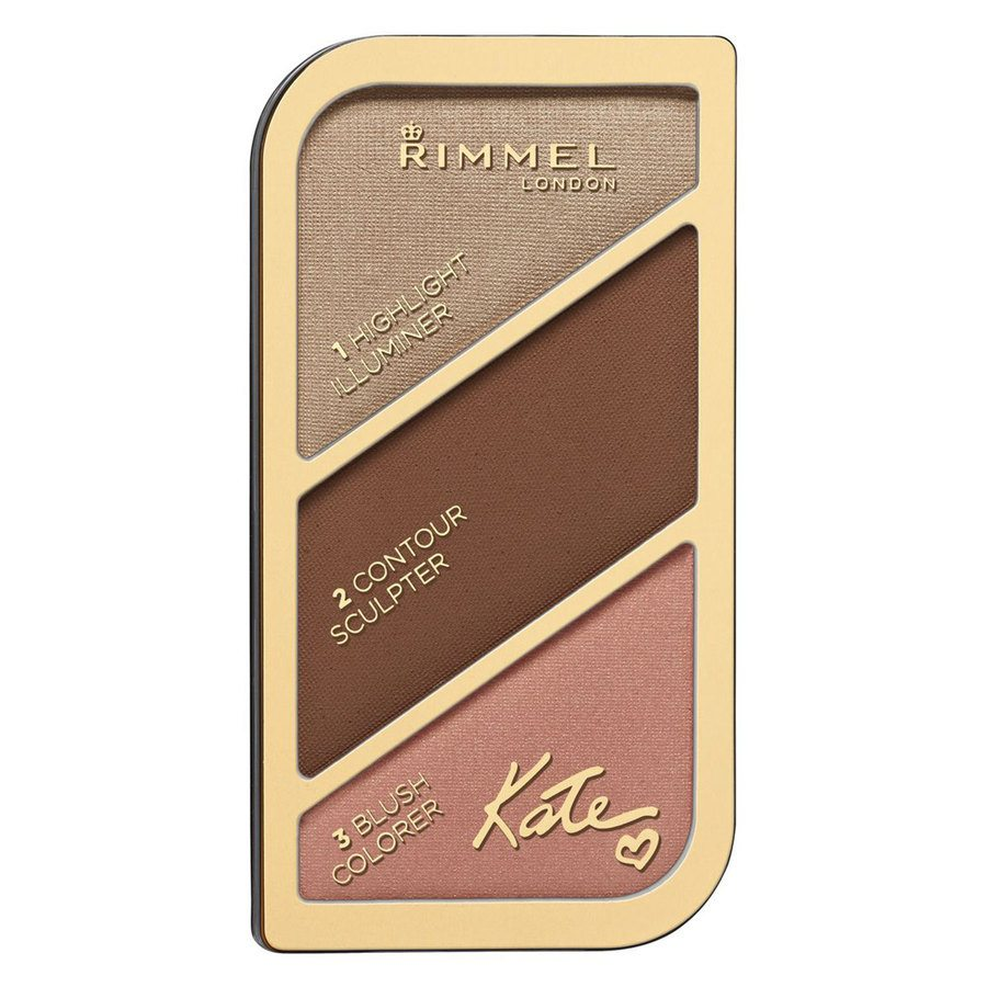 Rimmel London Kate Sculpting & Highlighting Palette, # 003 Golden Bronze (18,5 g)