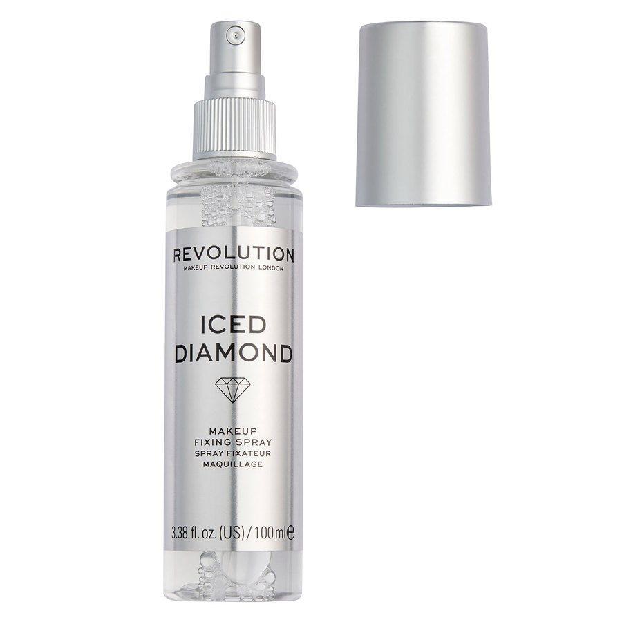 Makeup Revolution Precious Stone Fixing Spray, Iced Diamond (100ml)