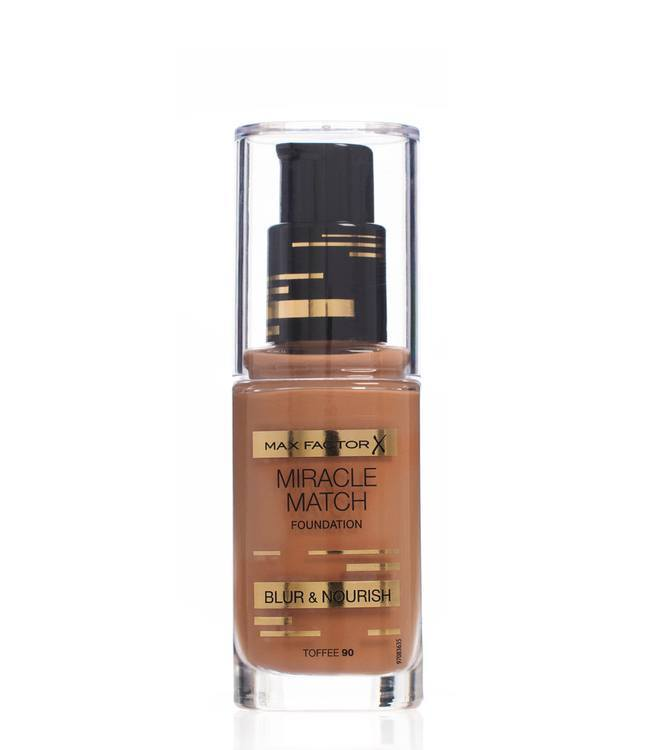 Max Factor Miracle Match Foundation, Toffee 090