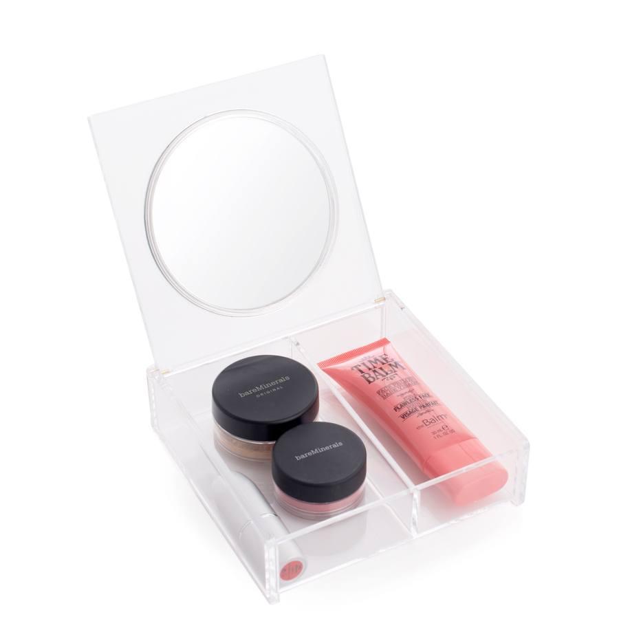 Cosmetic Organizer: Box mit Spiegel
