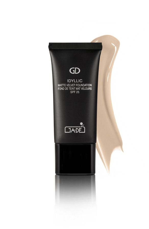 Ga-De Idyllic Matte Velvet Foundation No.105, Ivory Nude (30 ml)
