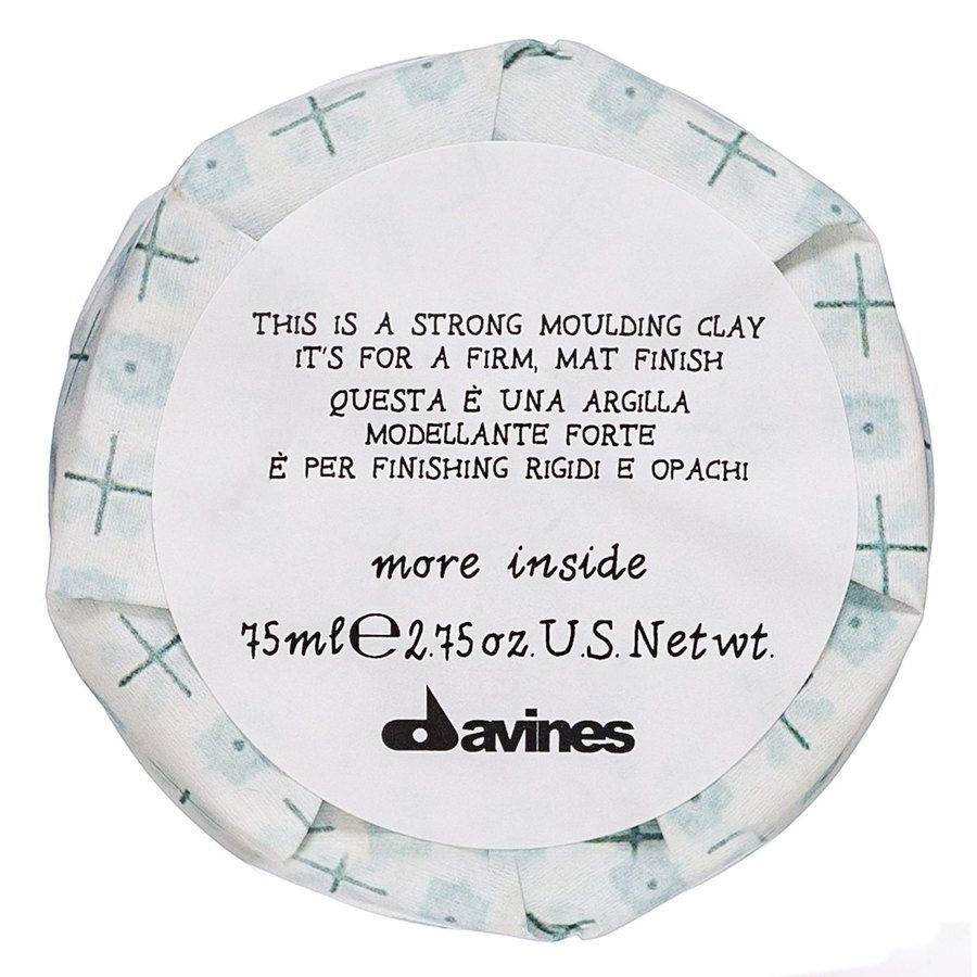 Davines More Inside This Is A Strong Moulding Clay Haarwachs (100ml)