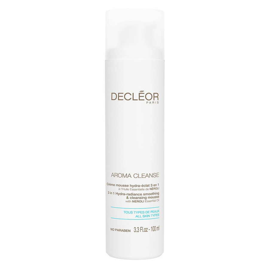Decléor Aroma Cleanse 3 in 1 Hydra-Radiance Smoothing & Cleansing Foam (100 ml)