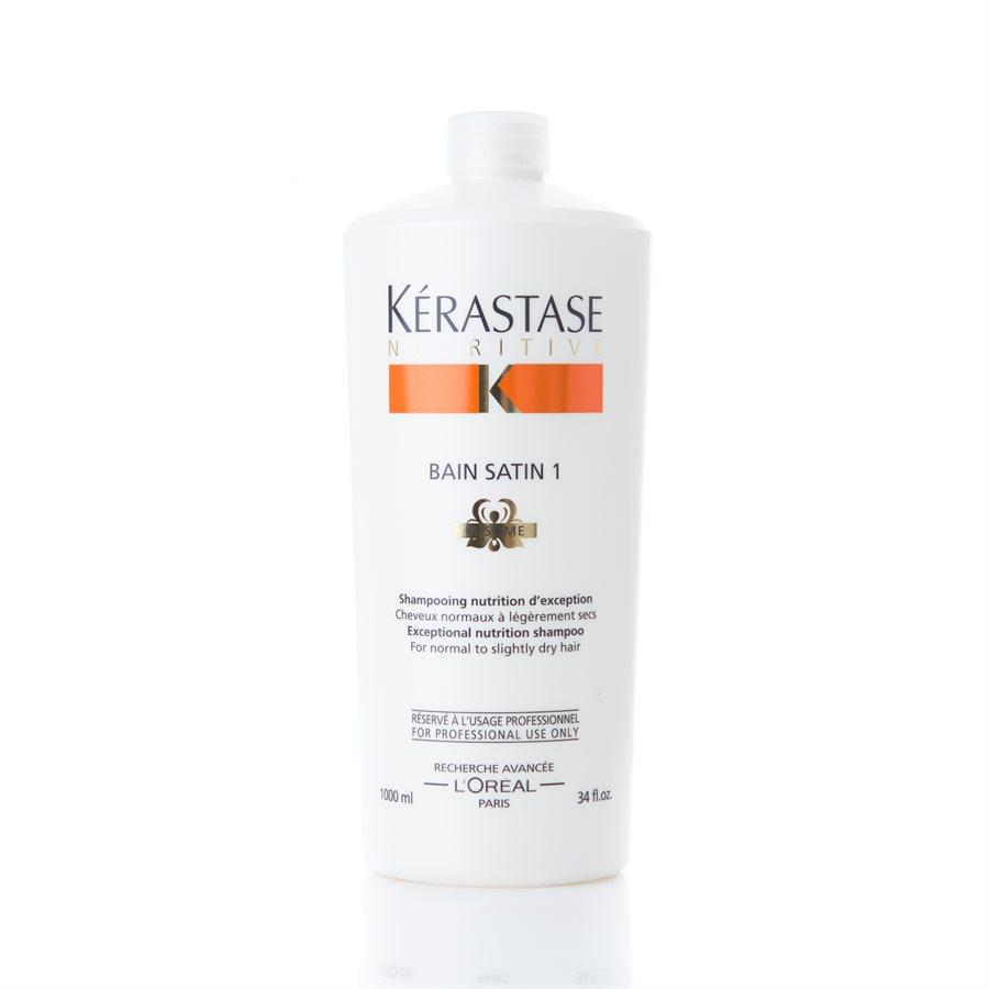 Kérastase Nutritive Bain Satin 1 Shampoo (1000ml)