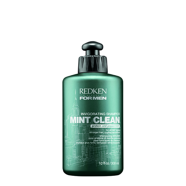 Redken For Men Mint Clean Invigorating Shampoo (300 ml)