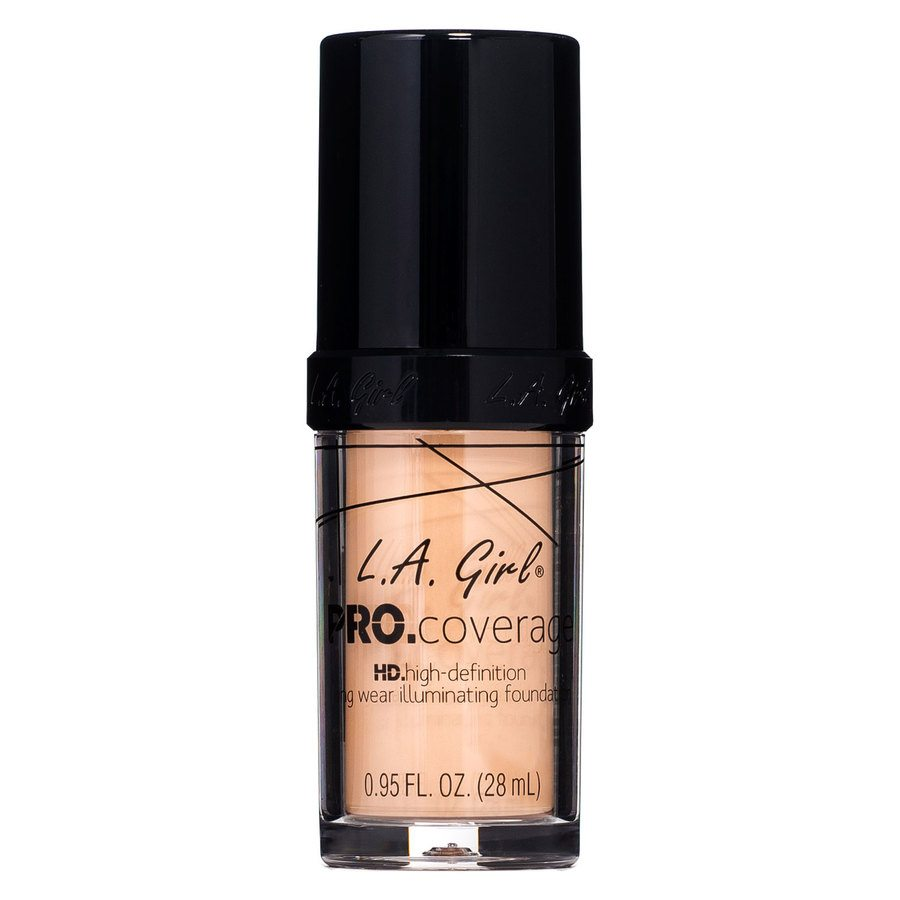L.A. Girl Pro Coverage Illuminating Foundation, GLM643 Porcelain