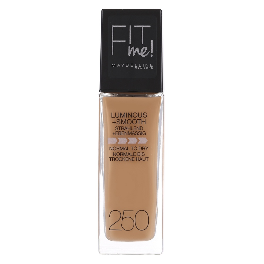 Maybelline Fit Me Liquid Foundation, Sun Beige 250 (30 ml)