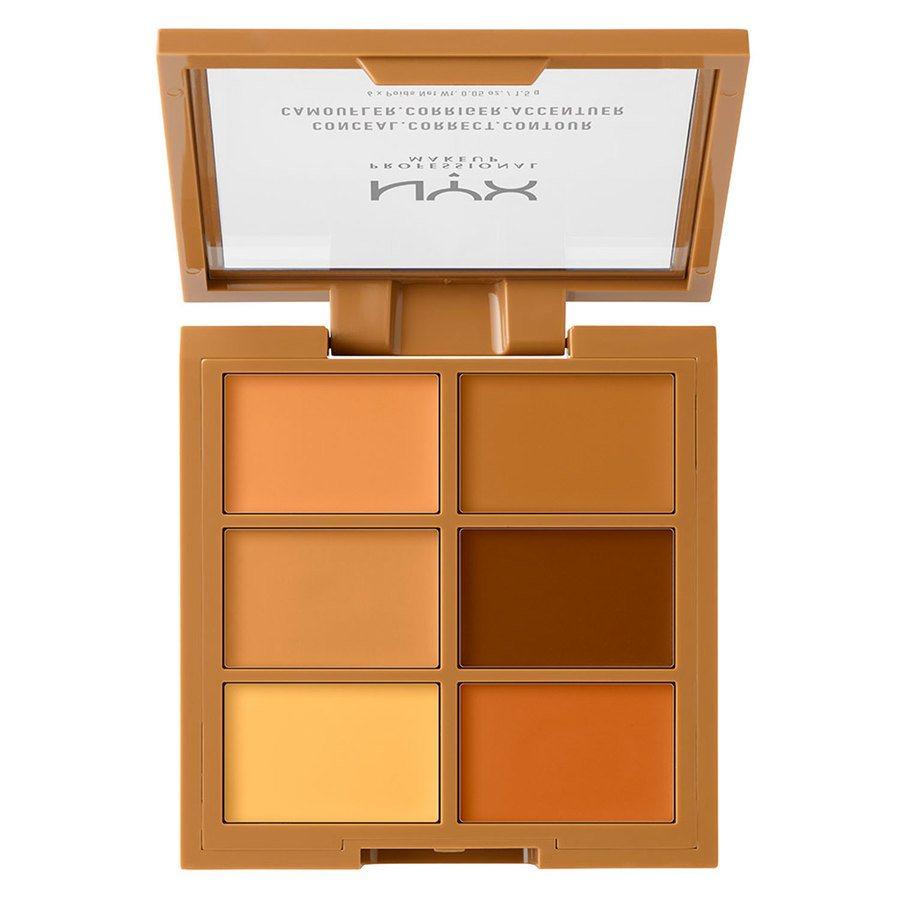NYX Professional Makeup Palette Conceal, Correct, Contour, Deep 3CP03