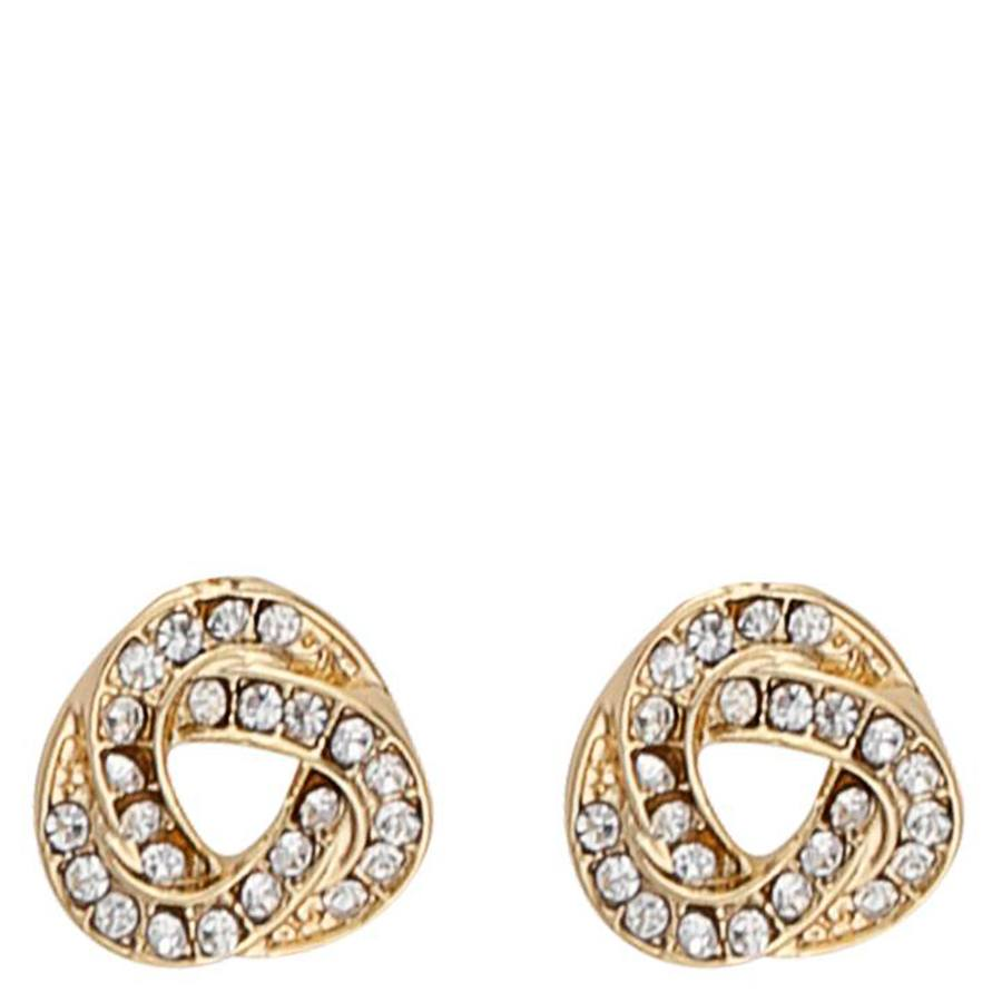 Snö Of Sweden Leonie Small Earring, Gold/Clear