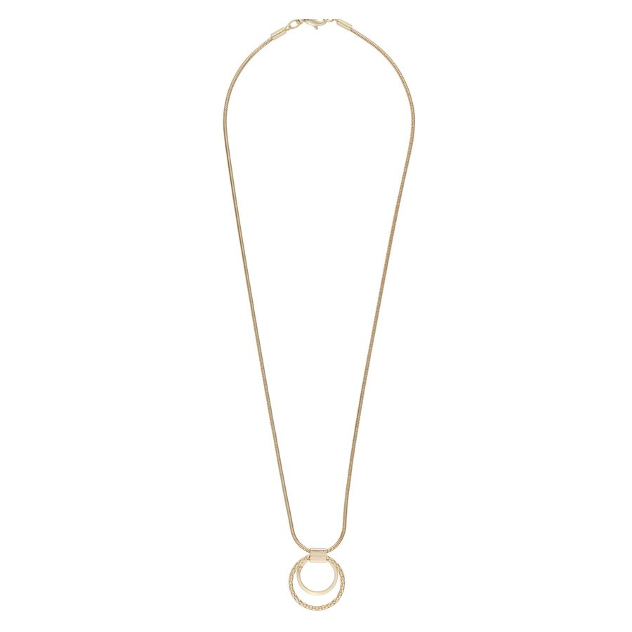 Snö Of Sweden Capella Pendant Necklace Gold (42 cm)