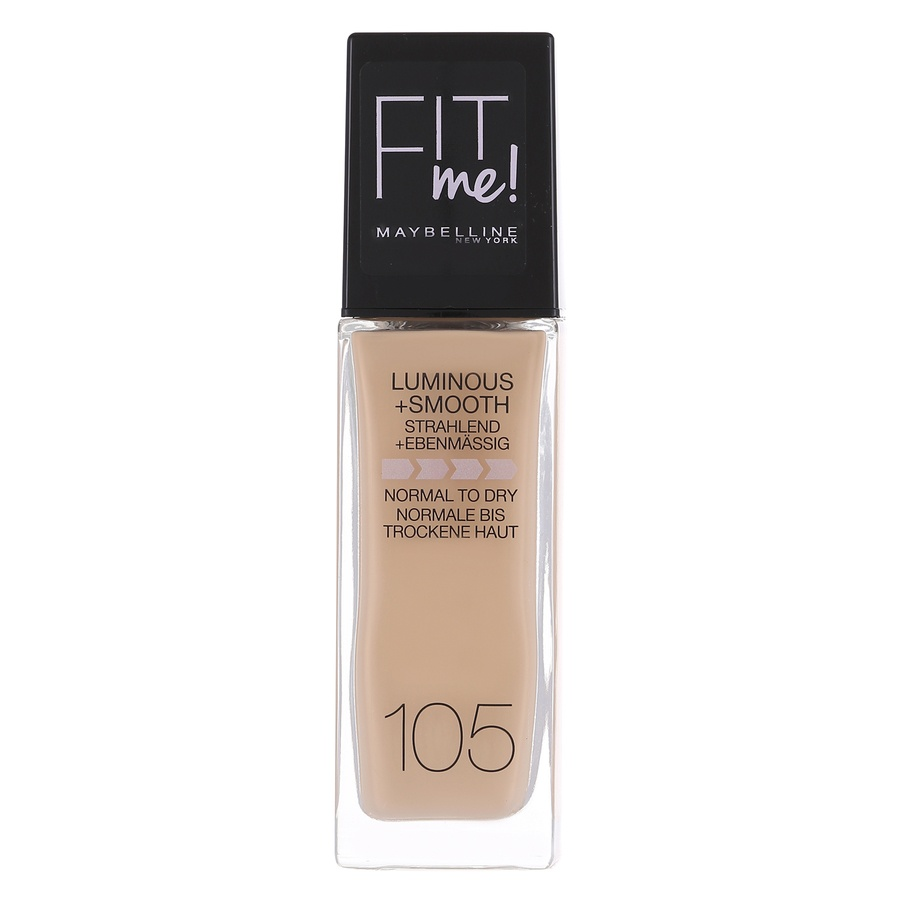 Maybelline Fit Me Liquid Foundation, Natural Ivory 1 05 (30 ml)