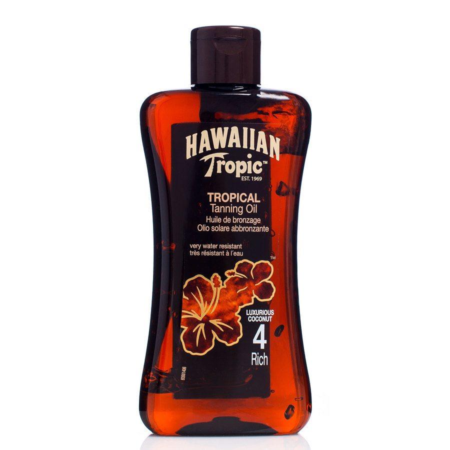 Hawaiian Tropic Tan Oil, Rich (200 ml)