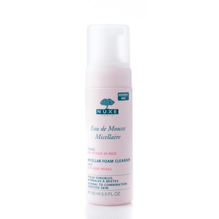NUXE Eau De Mousse Micellaire Micellar Foam Cleanser Mizellen-Reinigungsschaum (150 ml)