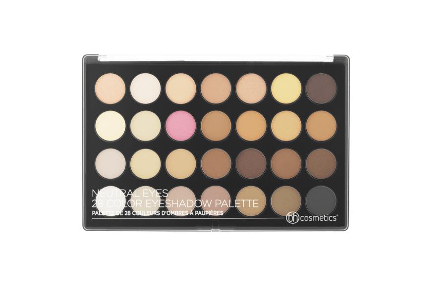 bh Cosmetics Neutral Eyes 28 Colour Eyeshadow Palette