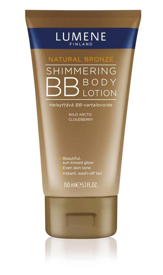 Lumene Natural Bronze Shimmering BB Body Lotion (150 ml)