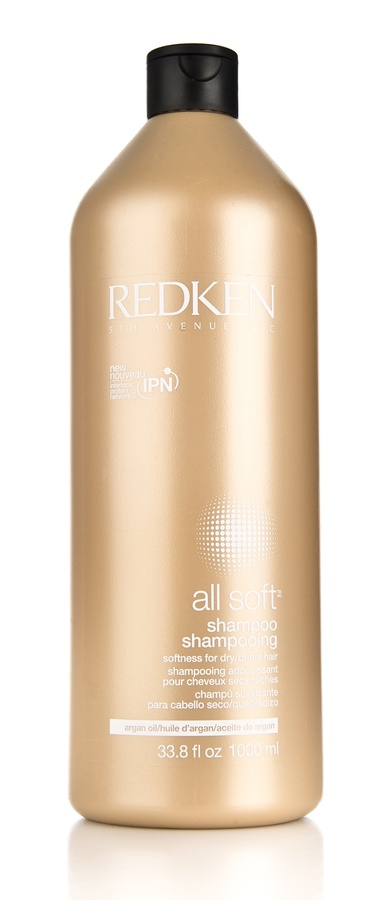 Redken All Soft Shampoo (1000 ml)