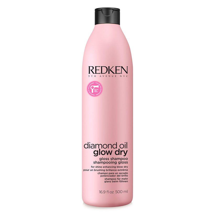 Redken Diamond Oil Glow Dry Gloss Shampoo (500 ml)