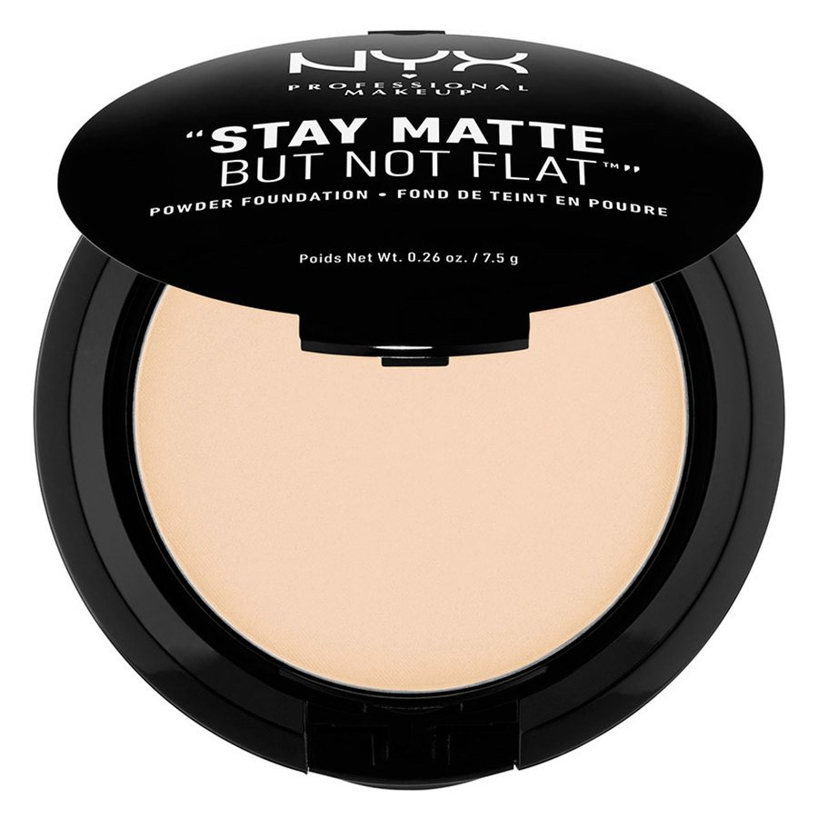 NYX Prof. Makeup Stay Matte But Not Flat Powder Foundation Ivory SMP01