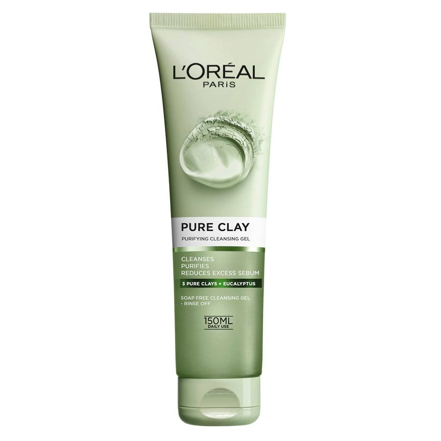 L'Oréal Paris Clay Wash Green (150 ml)