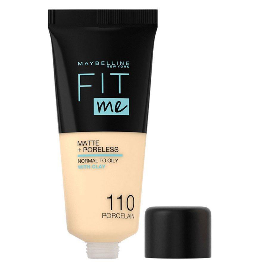 Maybelline Fit Me Makeup Matte + Poreless Foundation 110 30-ml-Tube