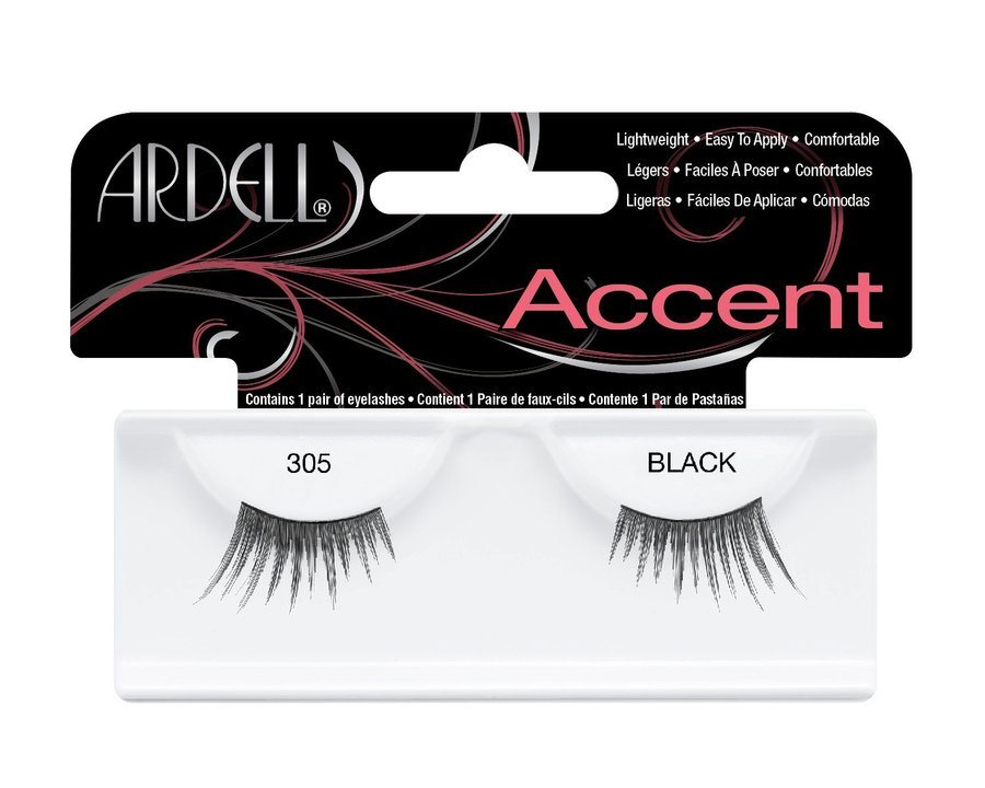 Ardell Accent Fashion Lashes, 305 Schwarz