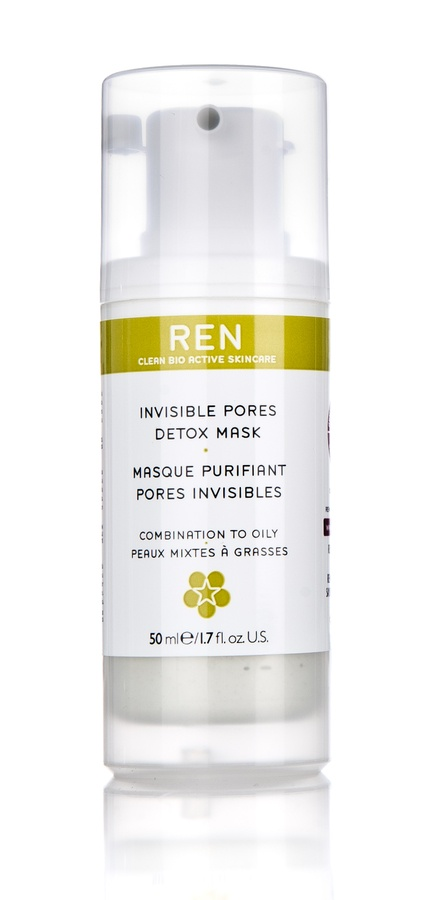 REN Invisible Pores Detox Mask Gesichtsmaske (50 ml)