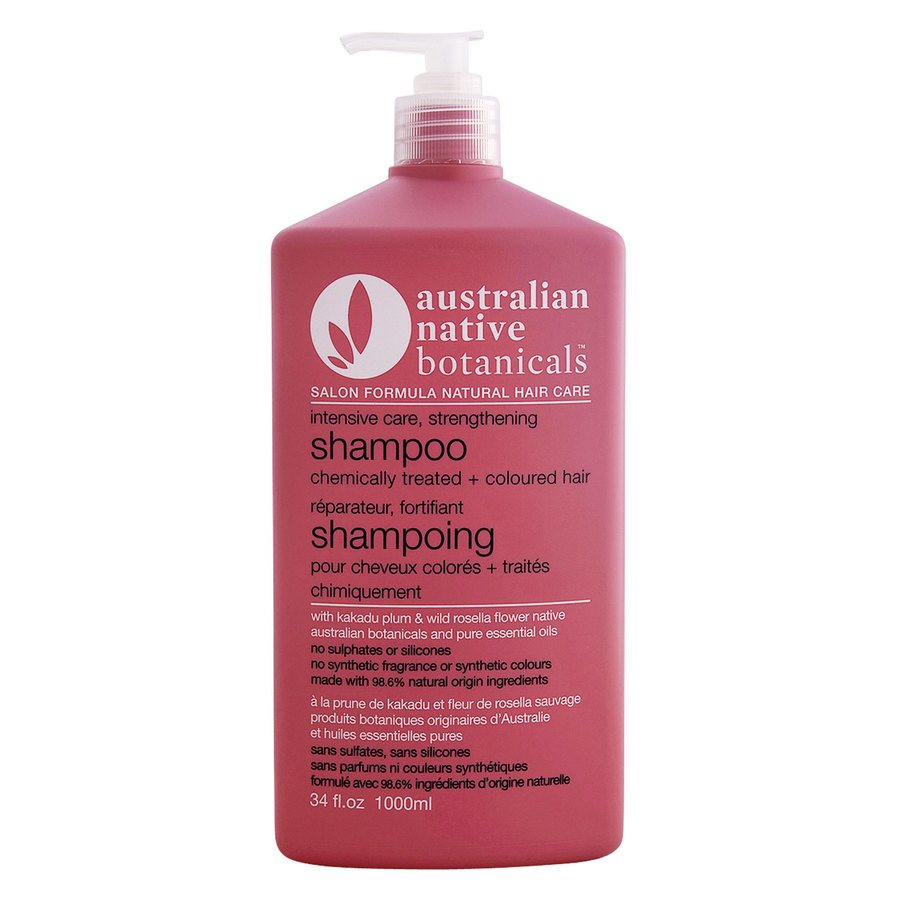 Native Australian Botanicals Strengthening Shampoo For Chemically Treated & Coloured Hair (1000ml)