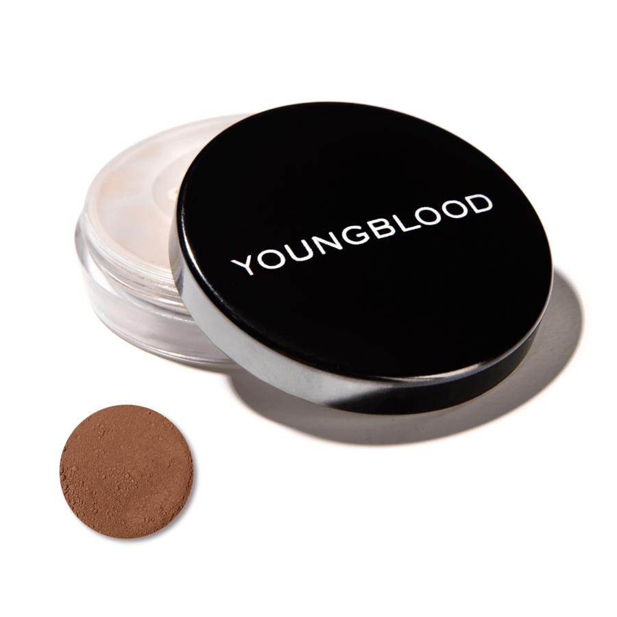 Youngblood Natural Loose Mineral Foundation, Hazelnut