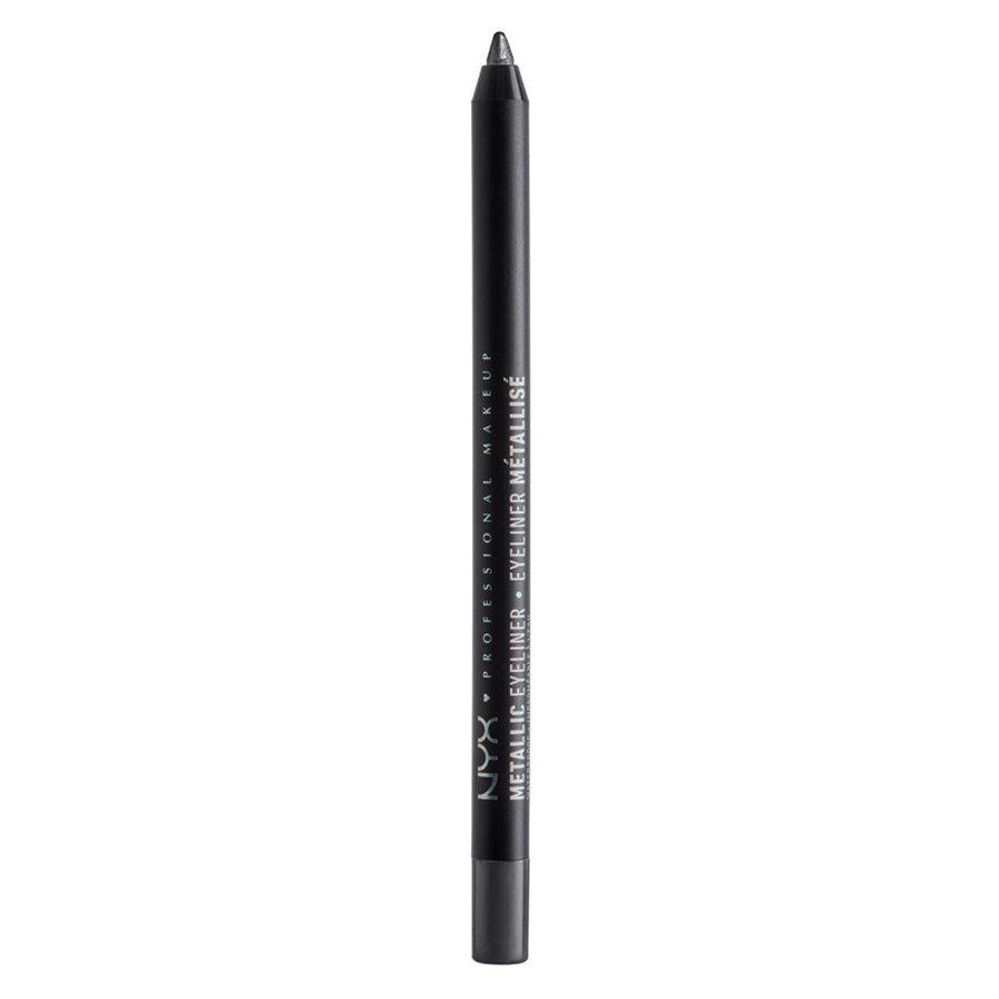 NYX Professional Makeup Metallic Eyeliner, Gunmetal