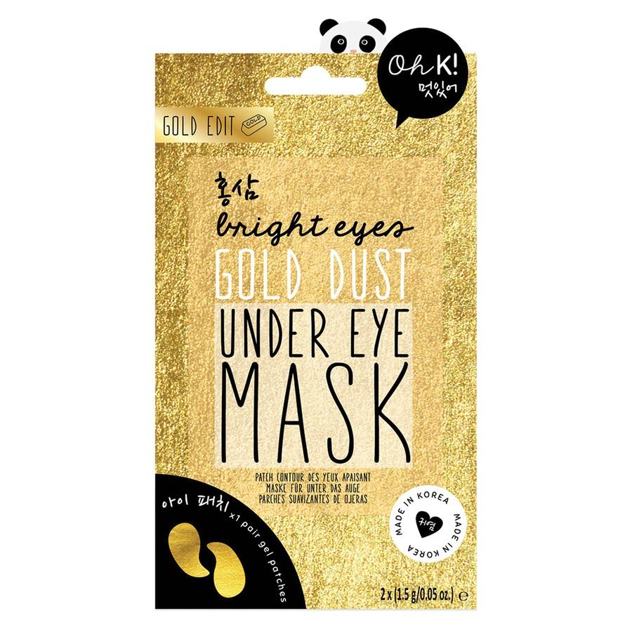 Oh K! Bright Eyes Gold Dust Under Eye Mask (2x 1,5 g)