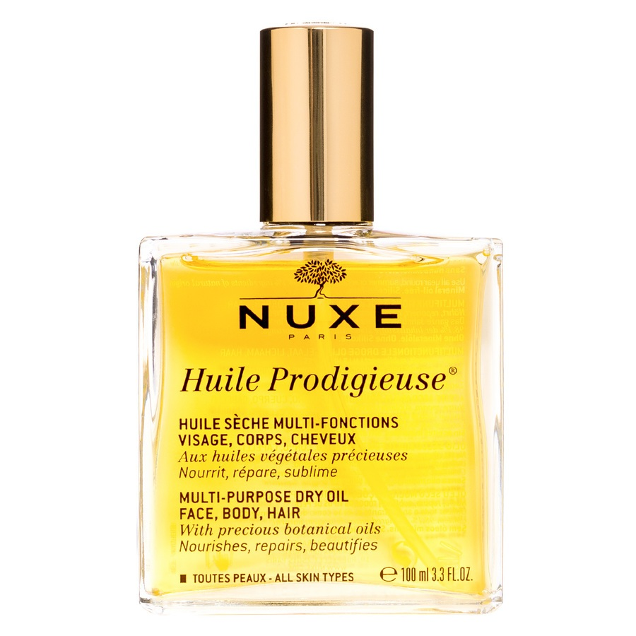 Nuxe Huile Prodigieuse Multi-Purpose Dry Oil Face, Body, Hair Trockenöl (100 ml)