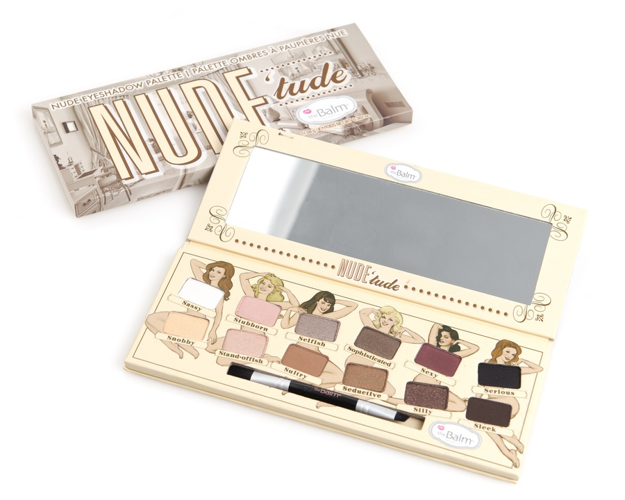 The Balm Nude'Tude Eyeshadow Palette (12 Farben)