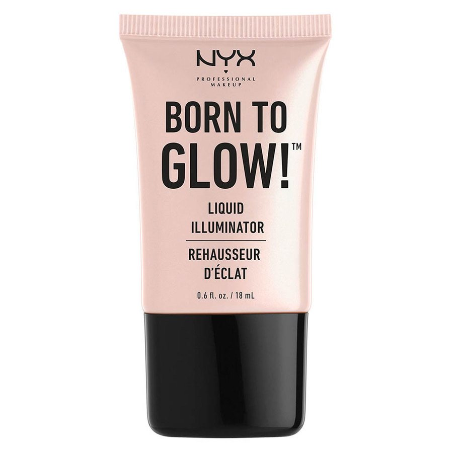 NYX Prof. Makeup Born To Glow Liquid Illuminator (18 ml), Sunbeam