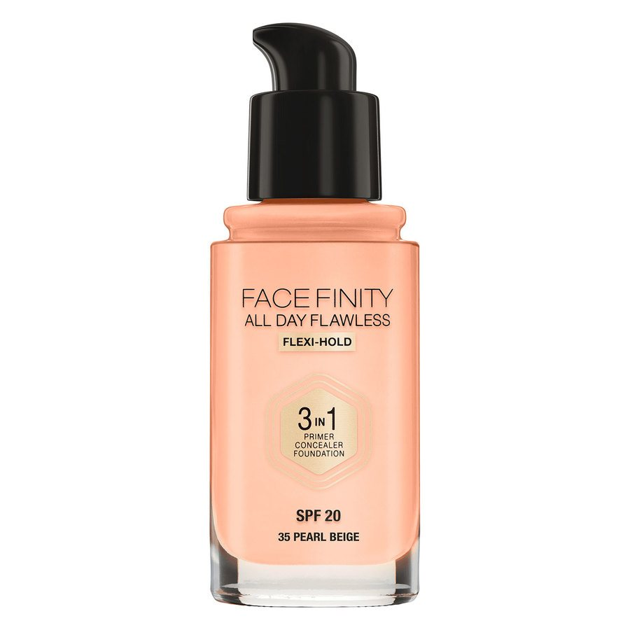 Max Factor Facefinity 3 In 1 Foundation (30 ml), 35 Pearl Beige