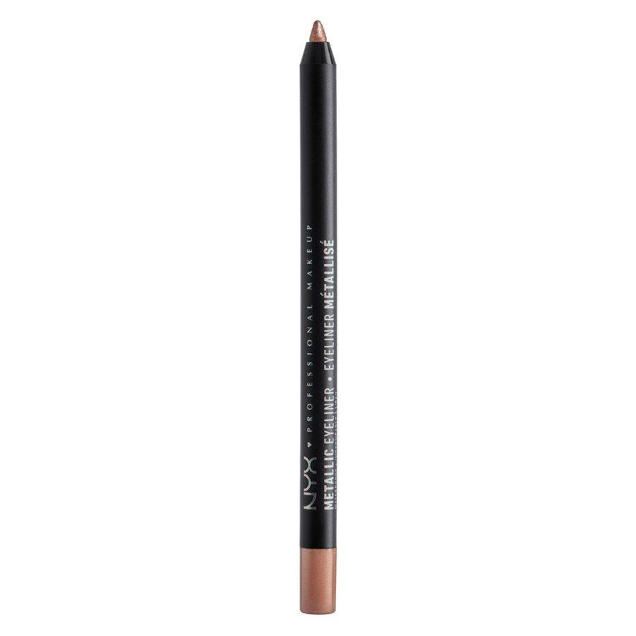 NYX Professional Makeup Metallic Eyeliner, Rose Gold