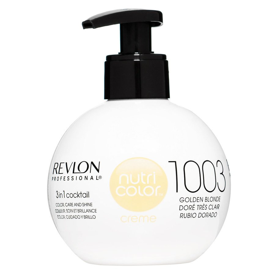 Revlon Professional Nutri Color Creme, #1003 Pale Gold 270ml