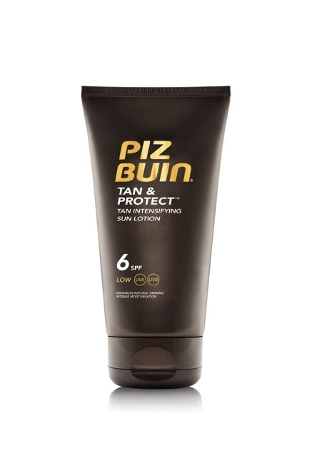 Piz Buin Tan & Protect Sun Lotion SPF 6