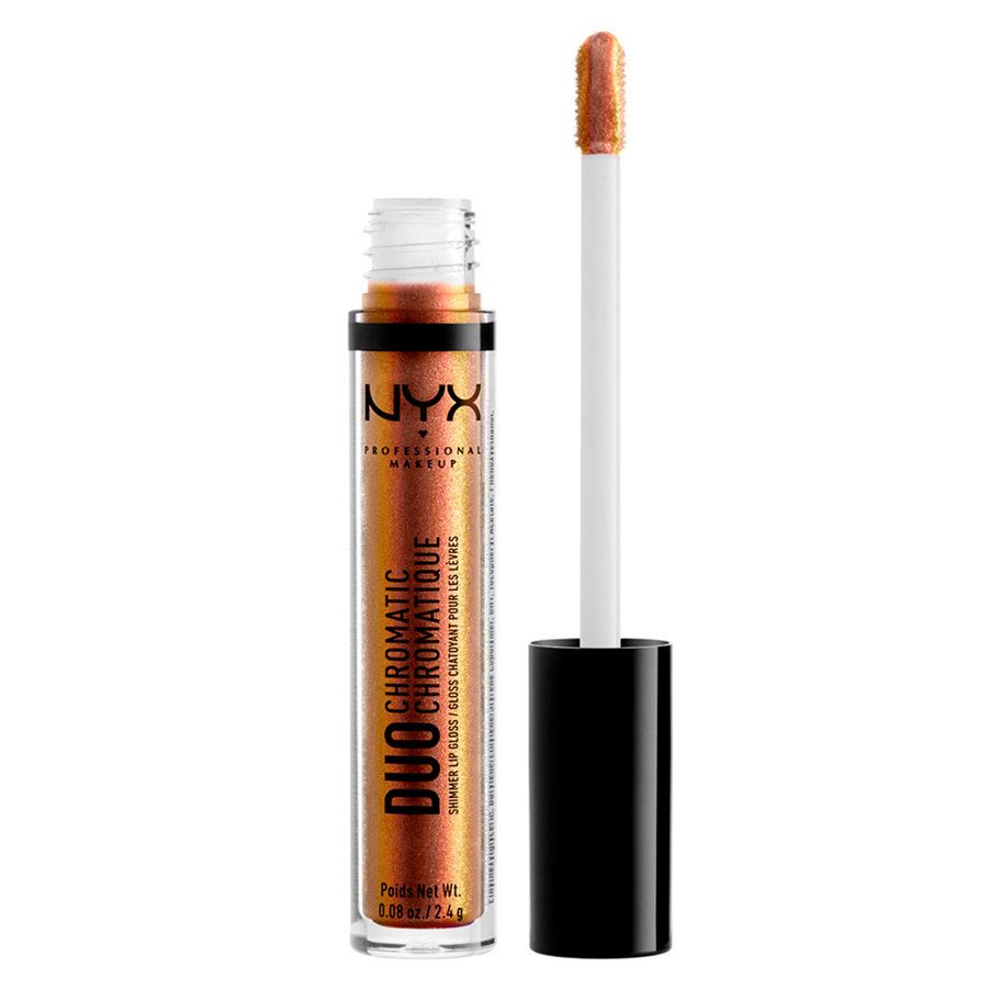 NYX Professional Makeup Duo Chromatic Lip Gloss, Fairplay