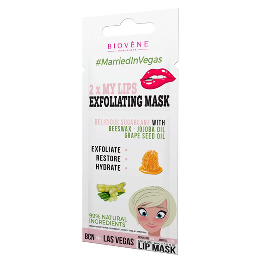 Biovène 2x Lip Exfoliating Mask (2x4 g)