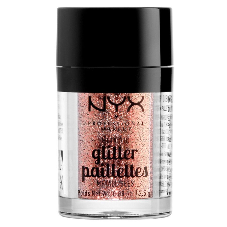 NYX Professional Makeup Metallic Glitter, Dubai Bronze