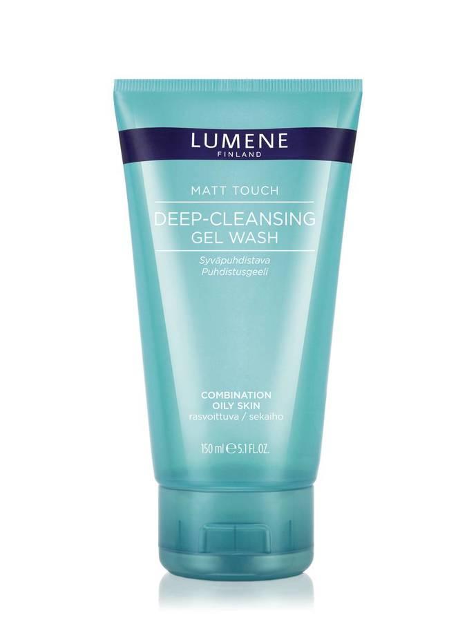 Lumene Skin Care Matt Touch Deep-Cleansing Gel Wash Gel-Cleanser (150 ml)