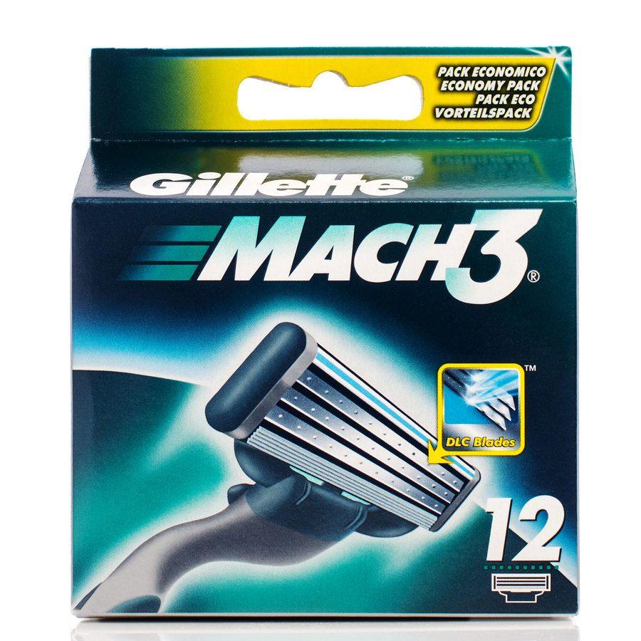 Gillette Mach3 12 Klingen