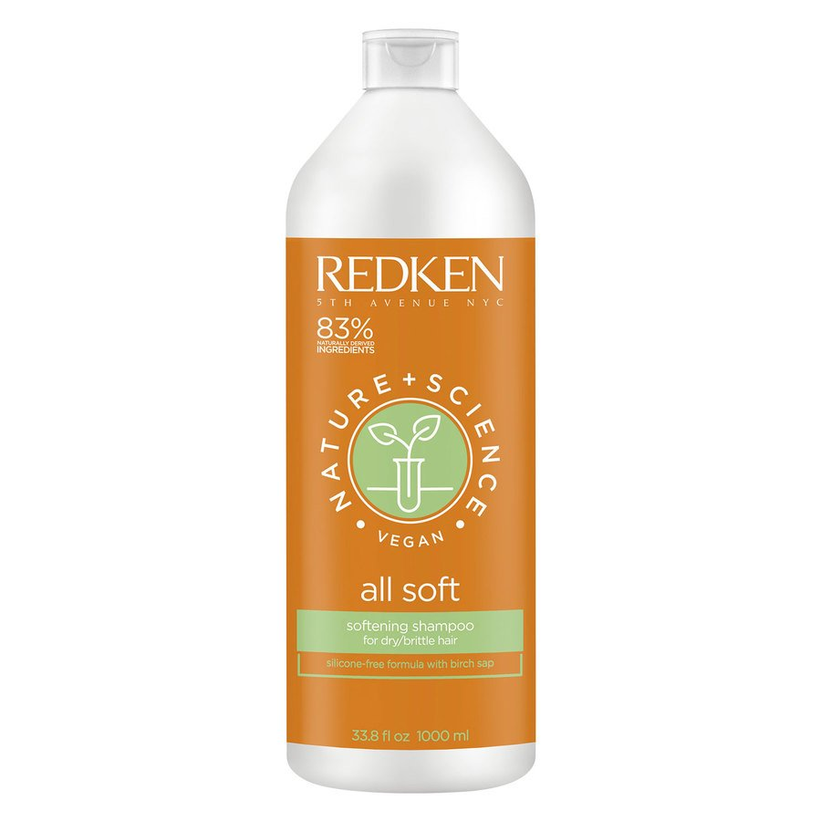 Redken Nature + Science All Soft Shampoo (1000 ml)